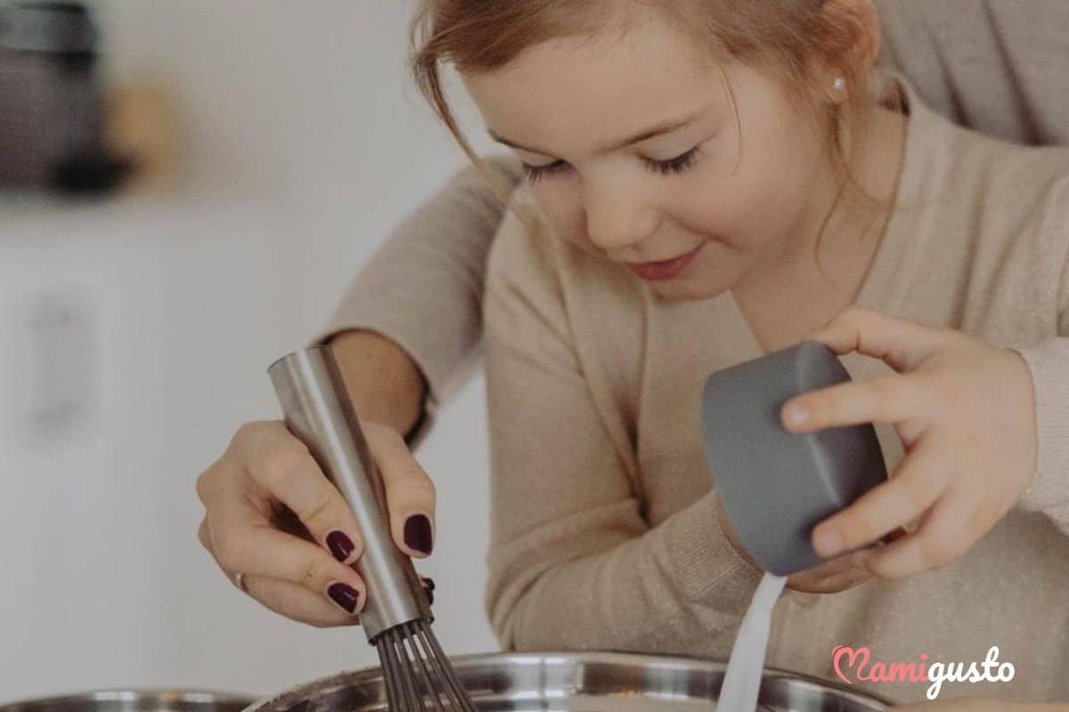 Μαγειρική και παιδί